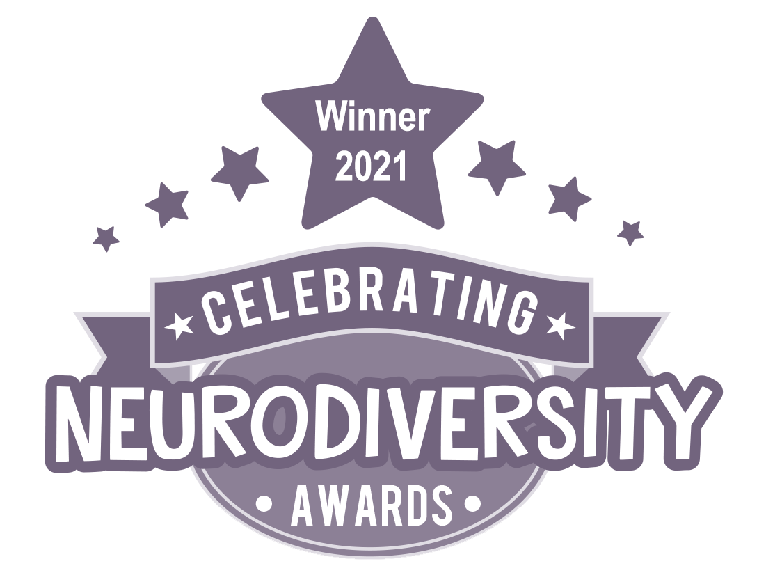 Winner 2021 CELEBRATING NEURODIVERSITY AWARDS