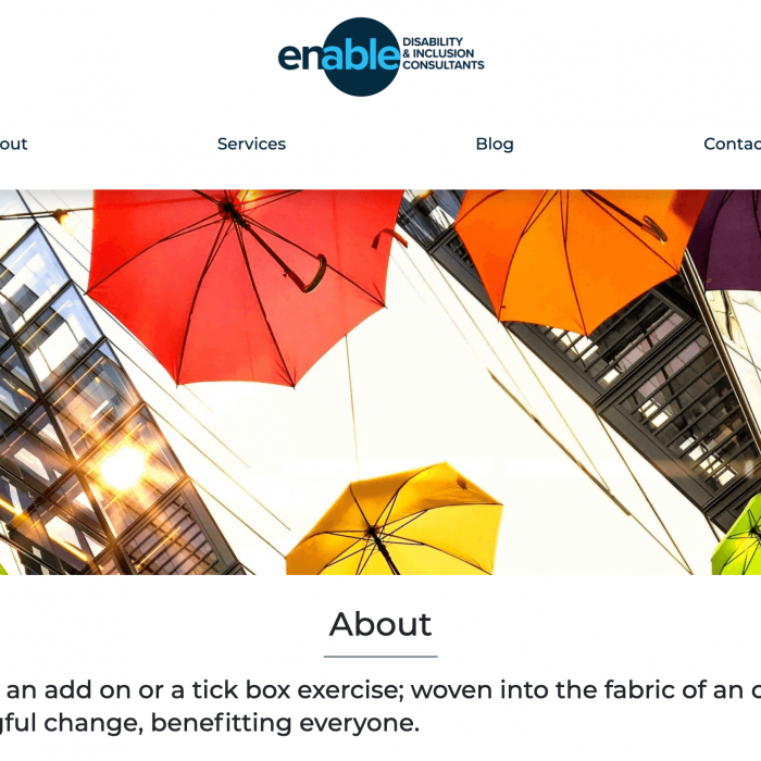 Enable D&I Home Page