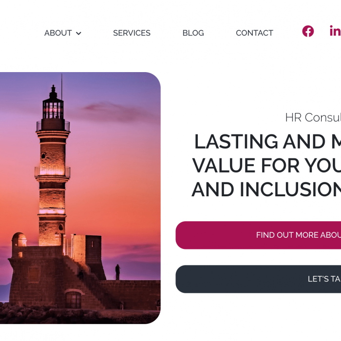WooCommerce Project Northern Powerhouse Consulting Website Home Page