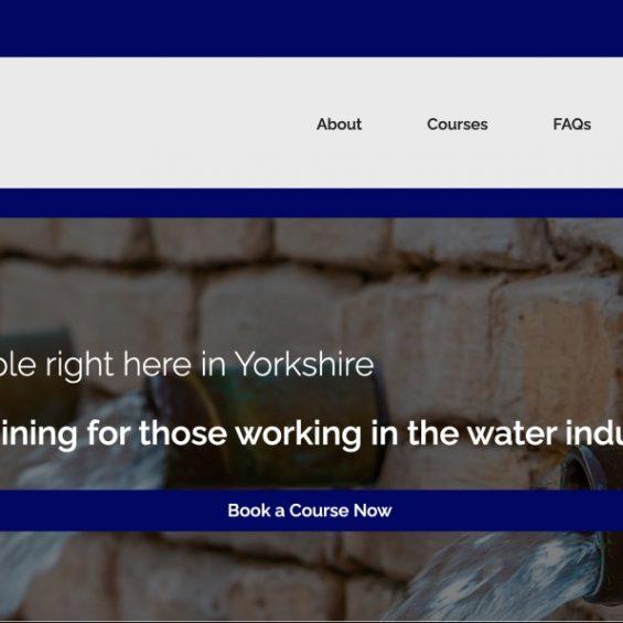 WooCommerce Project Alpha Water Hygiene Website screenshot