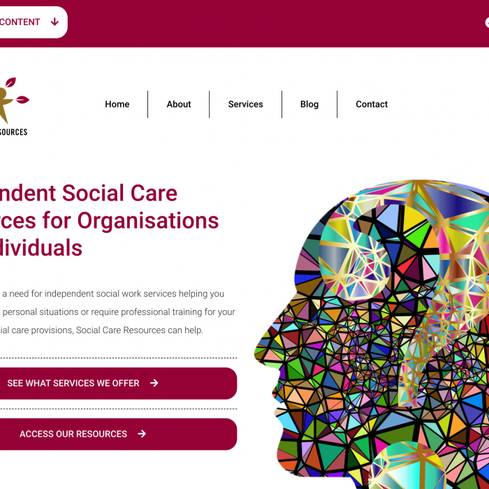 Social Care Resources Ltd Home Page