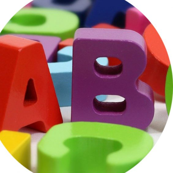 ABC colourful letters