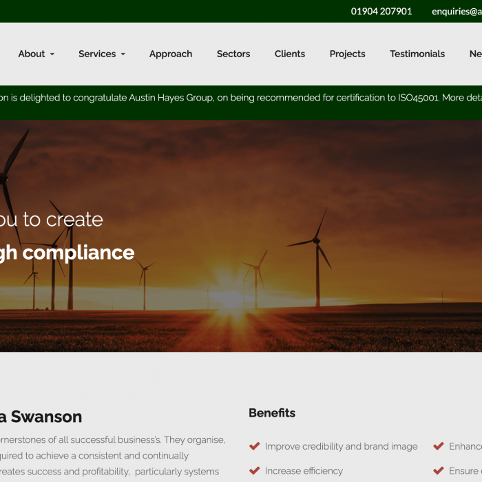 Alpha Swanson Ltd Home Page