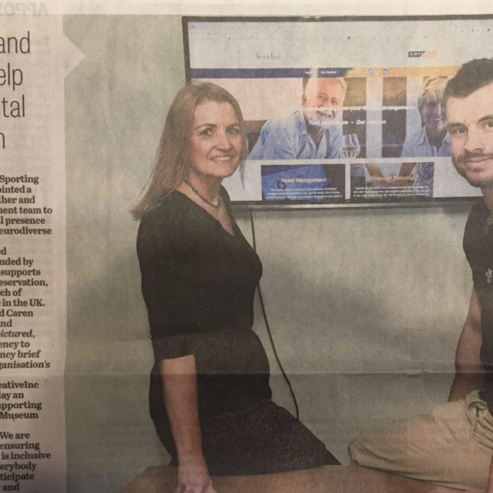Yorkshire Post business News 9th March 2021, Mother and son help with digital inclusion